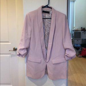 Zara Blush Pink Blazer